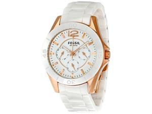 Fossil Ceramic Collection Allie White Dial Women's watch #CE1006