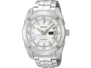Seiko Superior Silver Dial Stainless Steel Automatic Mens Watch SRP001