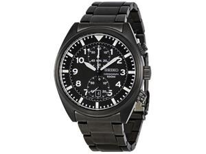 Seiko Sport Collection Chronograph Black Dial Men's watch #SNN233