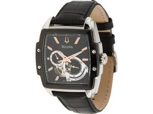 Bulova Automatic Black Dial Men's Watch #98A118
