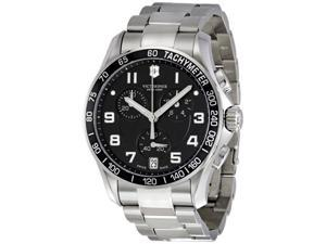 Victorinox Swiss Army Chrono Classic Stainless Steel Mens Watch 241494