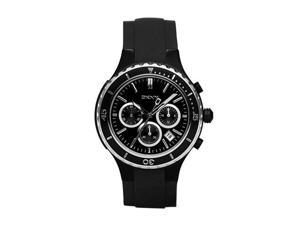 DKNY Black Rubber Strap Chronograph Mens Watch NY1468