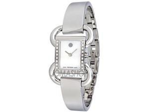 Movado Linop Mother of Pearl Dial Diamond Ladies Watch 0606473