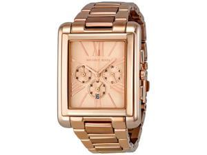 Michael Kors Bradley Slim Chronograph Rose Gold-tone Ladies Watch MK3169