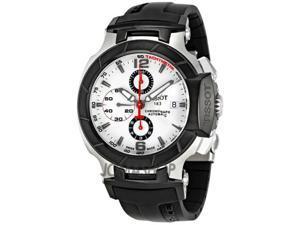 Tissot T Race Chronograph Black Rubber Strap Mens Watch T0484272703700