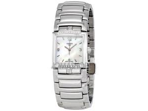 Tissot T-Evocation White Dial Stainless Steel Ladies Watch T0513106111700