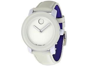 Movado Bold White Dial Mens Watch 3600023