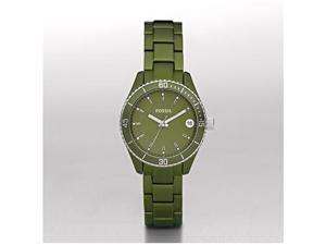 Fossil Riley Mini Green Aluminium Ladies Watch ES2928