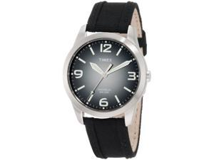 Timex Weekender Black Dial Nylon Strap Mens Watch TXT2N630