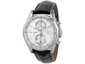 Tag Heuer Carrera Chronograph Silver Dial Automatic Mens Watch CAR2111.FC6266