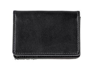 Joseph Abboud Black Leather Card Case J44165-08
