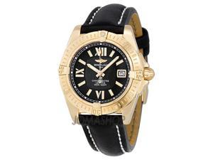 Breitling Lady Cockpit Diamond 18k Gold and Steel Ladies Watch H4935079-A618BK
