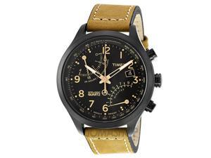 Timex Intelligent Quartz Flyback Chronograph Gunmetal Ion-plated Watch T2N700