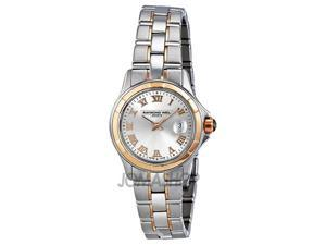 Raymond Weil Parsifal Silver Dial Steel And 18k Pink Gold Watch 9460-SG5-00658