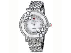 Michele Collete Mother of Pearl Dial Stainless Steel Mens Watch MWW20A000001