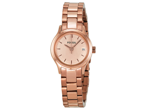 Fossil Archival Mini Rose Gold-tone Stainless Steel Ladies Watch ES3167