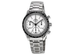 Omega Speedmaster Racing Chronograph Silver Dial Steel Mens Watch 32630405002001