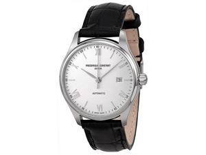 Frederique Constant FC303SN5B6 Index Analog Display Swiss Automatic Men's Watch (Black)