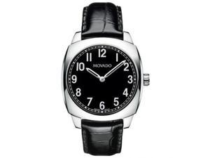 Movado 0606586  Men's Quartz Watch-Black
