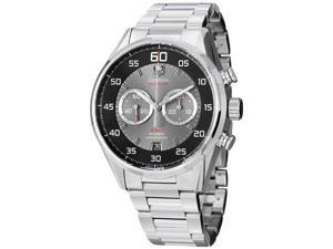 Tag Heuer Carrera Flyback Chronograph Silver Dial Steel Watch CAR2B10.BA0799