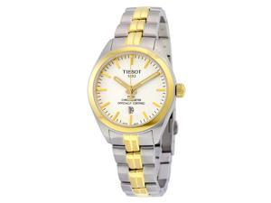 Tissot PR 100 Quartz COSC Lady White Dial Ladies Watch T1012512203100