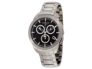 Tissot T-Sport Chronograph Black Dial Titanium Mens Watch T069.417.44.051.00