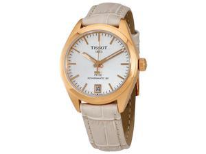 Tissot PR 100 Automatic Silver Dial Ladies Watch T101.207.36.031.00