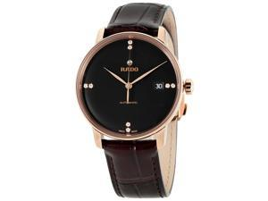 Rado Coupole Classic Black Dial Automatic Unisex Watch R22861755