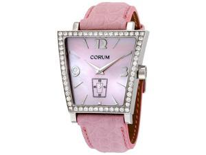 Corum Trapeze Pink Mother of Pearl Diamond Ladies Watch 106404470008PM52