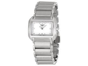 Tissot T-Wave Ladies White Dial Watch T023.309.11.031.01