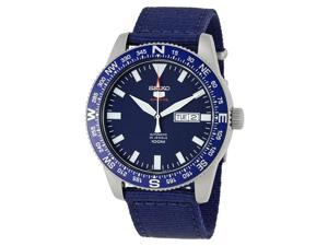 Seiko 5 Sports Blue Dial Automatic Mens Watch SRP665K1S
