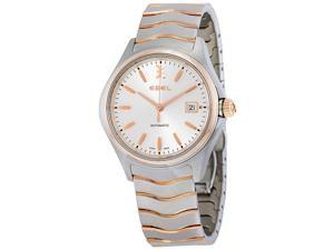 Ebel Wave Automatic Silver Dial  Mens Watch 1216204