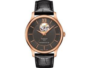 Tissot T Classic Tradition Automatoic Anthracite Dial Mens Watch T063.907.36.068.00