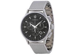 Movado Circa Chronograph Black Dial Mens Watch 0606803