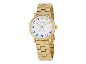 Marc by Marc Jacobs Baker White Dial Mens Watch MBM3440