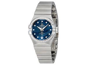 Omega Constellation Automatic Ladies Watch 123.15.27.20.53.001