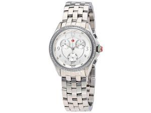 Michele Belmore Chronograph Silver Dial Ladies Watch MWW29B000001