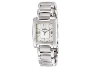 Ebel Brasilia White Guilloche Ladies Watch 1215774