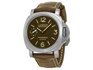 Panerai Luminor Marina 8 Days Titanio Mechanical Mens Watch PAM00564