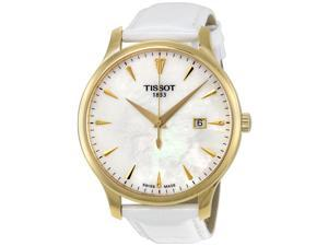 Tissot Tradition Mother of Pearl Dial Mens Watch T063.610.36.116.00