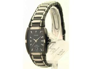 Womens Pulsar Steel Date Watch PH7055