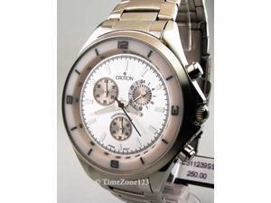 Mens Croton Steel Chrono Tachymeter Watch CC311239SSSL