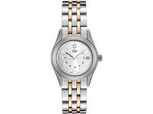 Womens Victorinox Swiss Army Alliance 2 Tone Date Watch 24096