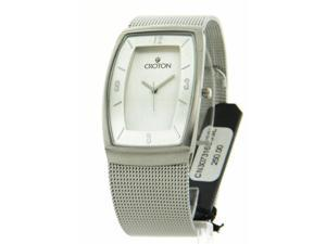 Croton Men's Stainless Steel Mesh Elegant Dress Watch CN307316SSSL