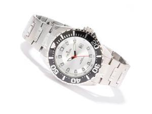 Croton SS Silver 44mm Dial 20 ATM Watch CA301228SSSL
