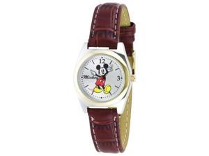 Disney Mickey Mouse Silver Dial Women's watch #MCK613