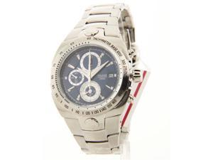 Mens Pulsar Stainless Steel Chrono Tachymeter Date 10ATM Casual Watch PF3801