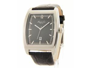 Kenneth Cole NY Genuine Leather Men's Date Casual New Watch KC1821