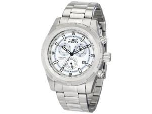 Invicta Men's II Collection Swiss Chronograph Date 45mm White Dial Watch 1558