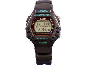 Casio DW290-1V Black Casual Sports Mens Watch